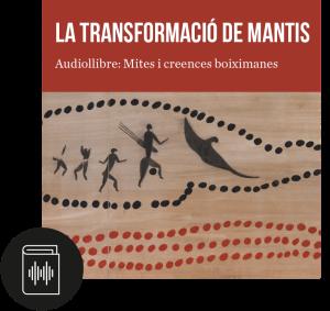 Portada de l'audiollibre «La transformació de Mantis»